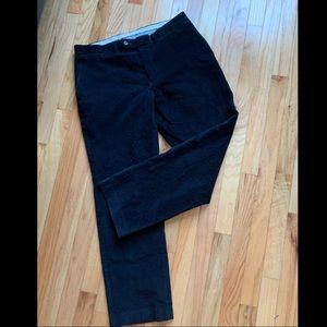 Black Polo Ralph Lauren Corduroy Pants